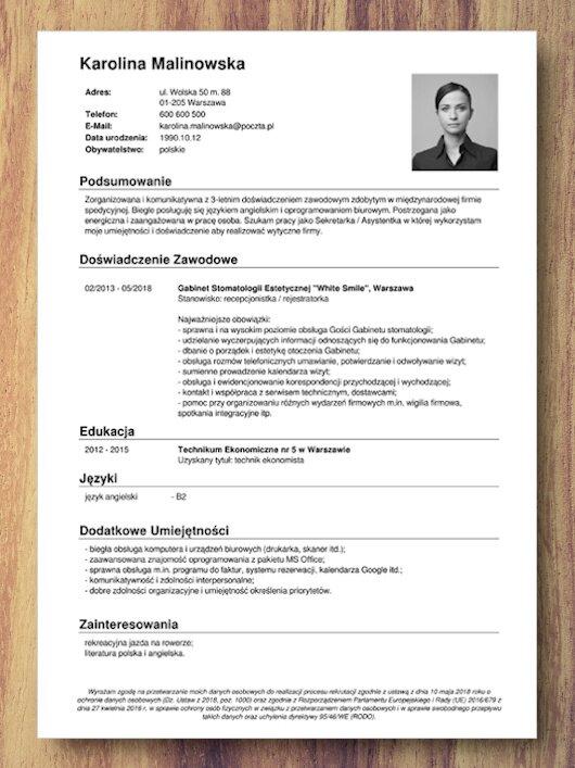 kreator cv do pdf darmowy